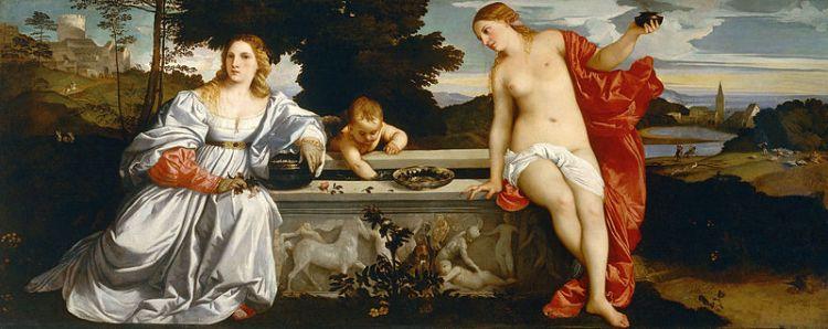 800px-Tiziano_-_Amor_Sacro_y_Amor_Profano_(Galería_Borghese,_Roma,_1514)