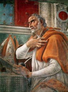 Sandro Botticelli: Pyhä Augustinus