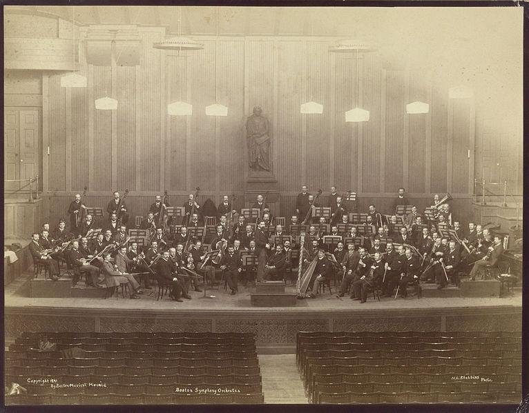 Nathaniel Livermore Stebbins: Bostonin sinfoniaorkesteri (1891)